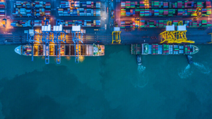 Container ships to represent Yantian port